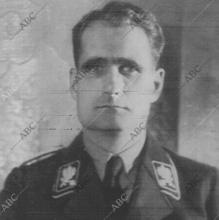 Hess, durante la guerra